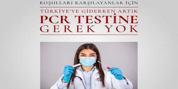 Türkiye'ye girişte PCR testi uygulaması 1 Haziran itibari ile değişti