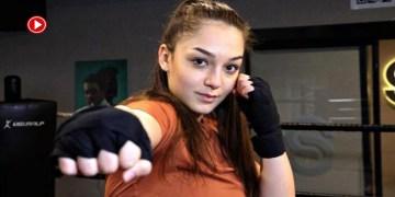 Avusturya'dan kesin dönüş yapan genç kadın boksör, Türkiye için yumruk atacak (VİDEO)