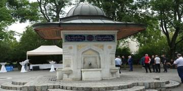 Viyana'da tadilatı tamamlanan Yunus Emre Çeşmesi yeniden hizmete açıldı