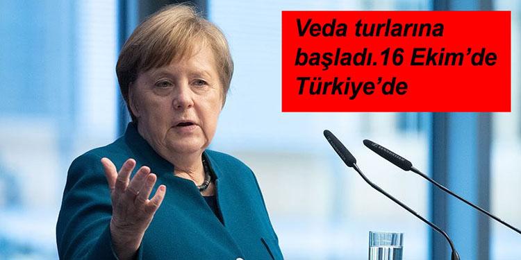Almanya Başbakanı Angela Merkel, 16 Ekim'de Türkiye'yi ziyaret edecek