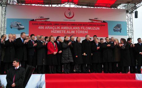 Başbakan, Büyükçekmece ve Beylikdüzü'ne Hastane Müjdesi verdi