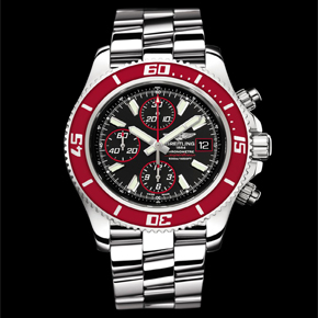 NEW: BREITLING SUPEROCEAN CHRONO II ABYSS RED