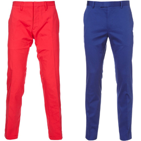 SUMMER ESSENTIAL: COLORED CHINOS