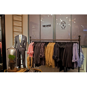 UPDATE: 'THE TODD SNYDER TAILORED SHOP' @ ODIN