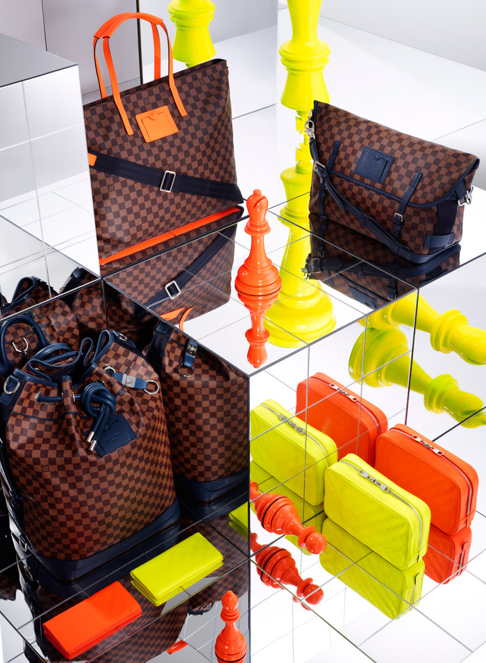 Louis Vuitton's Damier Signature Collection, Spring 2013 1