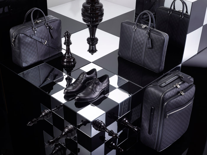 Louis Vuitton's Damier Signature Collection, Spring 2013 8