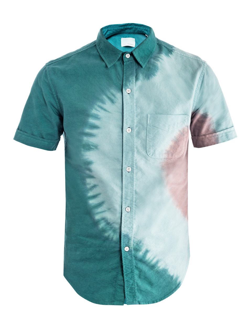Band of Outsiders Tie Dye Green