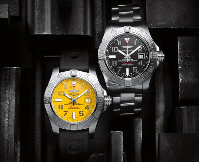 Breitling_Avenger_II_Collection_01