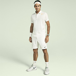 NIKE Unveils All White Looks For Wimbledon 2013