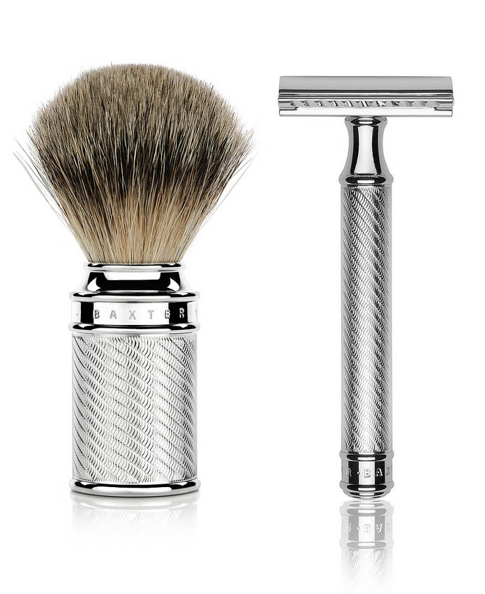 Baxter_Double-Edged Safety Brush & Razor