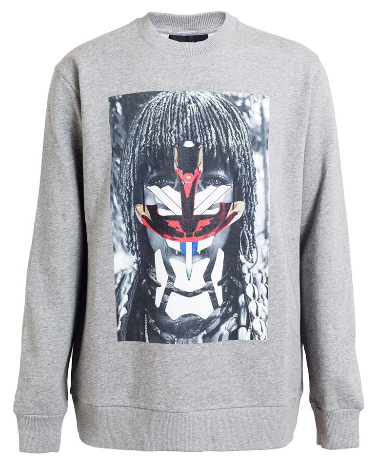 Givenchy-SS14-Tribal-Print-Sweatshirt
