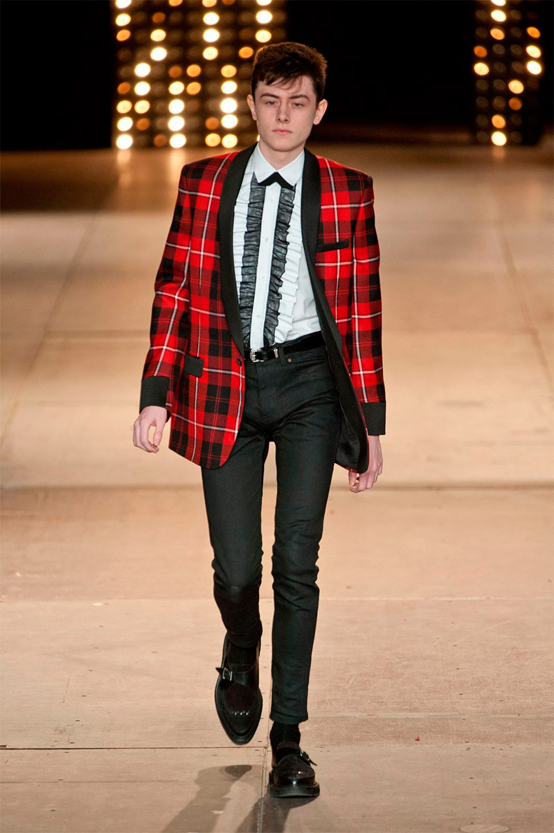 Saint Laurent Fall 2014 40