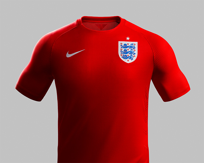 NIKE England 2014 Home & Away Kit 05