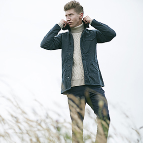 Barbour x Norton & Sons AW14 Lookbook