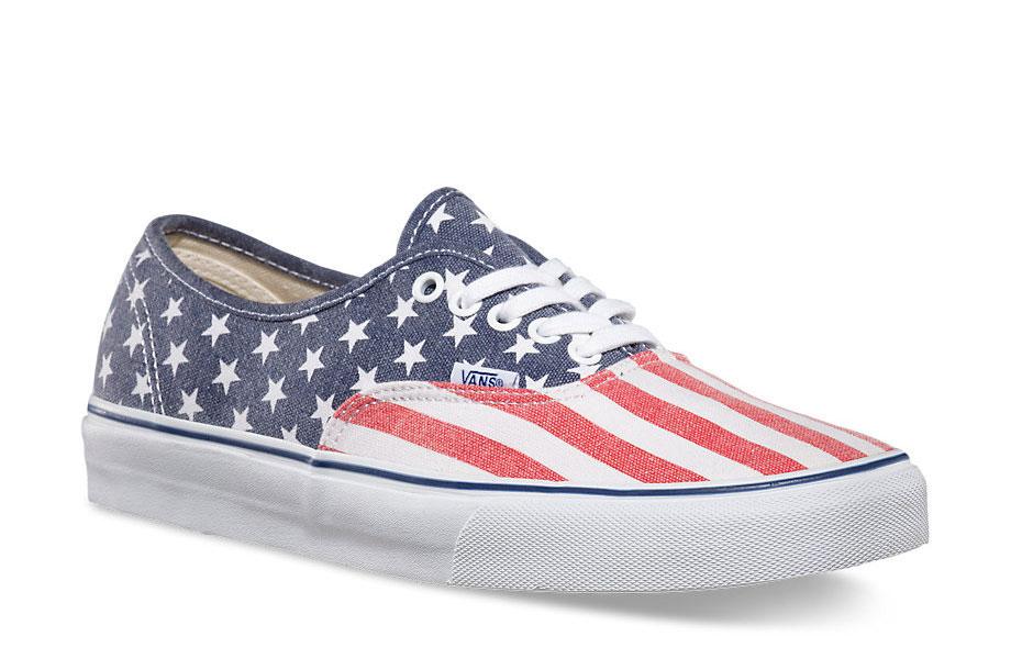 July4_Vans Stars Stripes Low