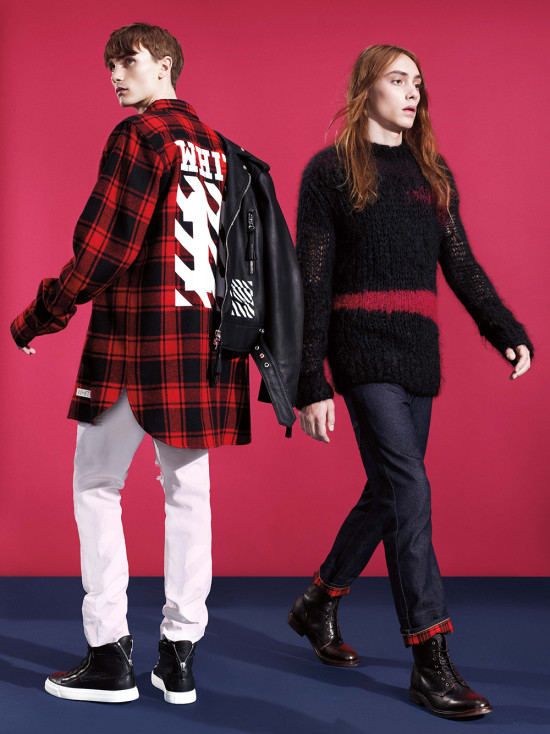 Barneys FW14 Lookbook_Off-White Junya Watanabe Man Comme des Garcons