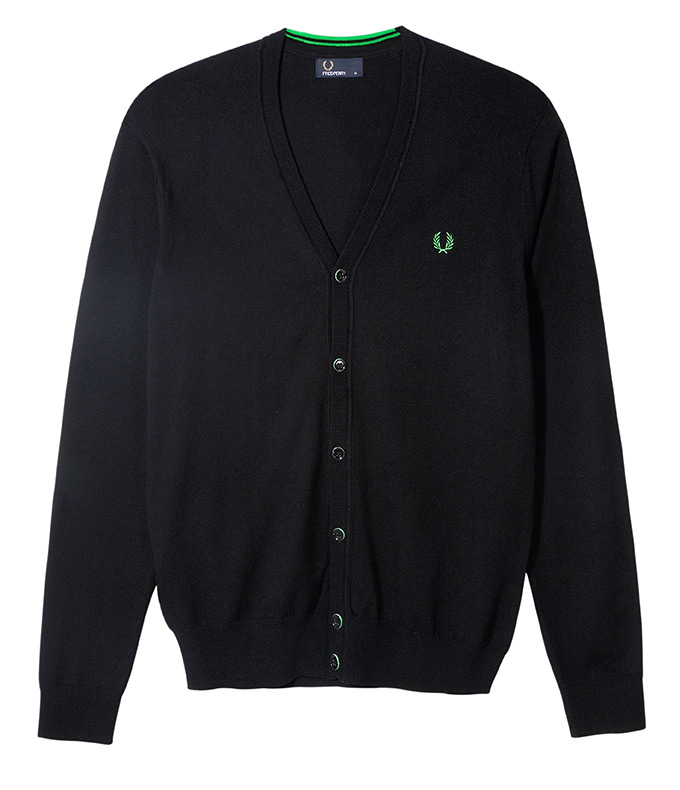 Fred Perry Soho Neon_Cardi Green