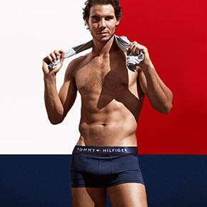 Rafa Nadal Fronts Hilfiger's Underwear Campaign