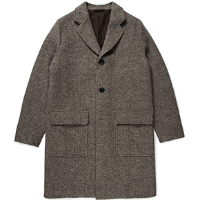 Sunspel's Natural British Wool Overcoat