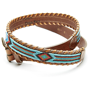 Camp Hero Beaded Belts