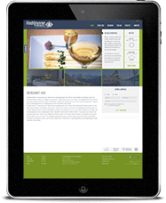 Hochbrunner Responsive Website iPad haberer media Internetagentur Südtirol