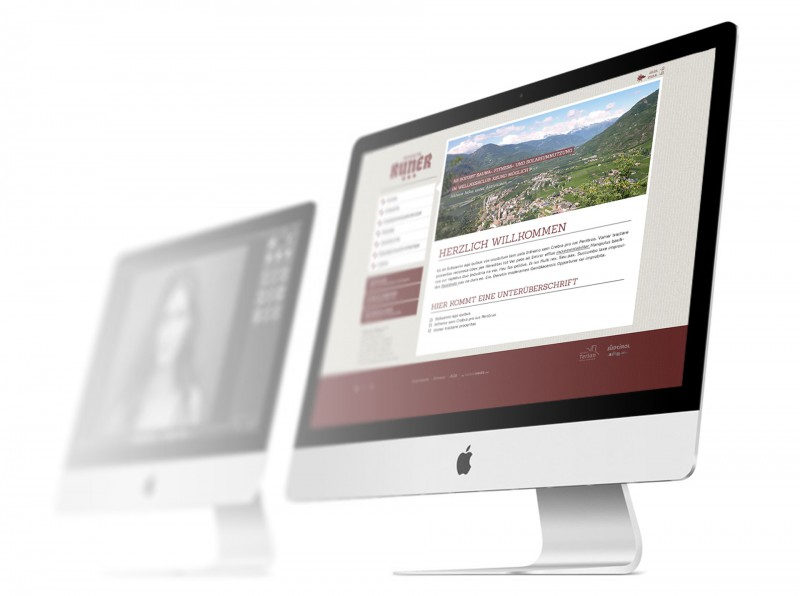 Pension Runer Webdesign