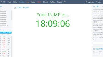 YoBit Rastgele Bir Coin'de Pump Yaptı Fiyatı 15 Kata Kadar Yükselti