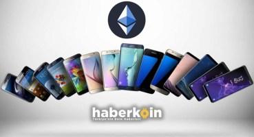 Samsung, Galaxy Akıllı Telefon Modelleri de Ethereum'u Destekleyecek.