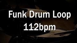 Funk Drum Loop 112bpm