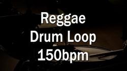 Reggae Drum Loop 150bpm