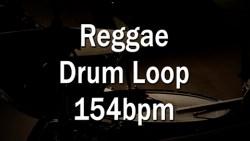 Reggae Drum Loop 154bpm