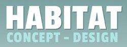 Logo habitat concept design