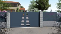 CLAUSTRALU portail et cloture ajouree
