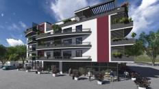Conception d'un bâtiment stylé sur Abidjan en Cote d'ivoire