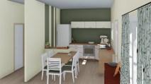 Cuisine avec plateau repas sur Roquebrune sur Argens