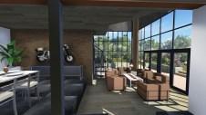 Extension d'un salon avec une verrière sur Mougins