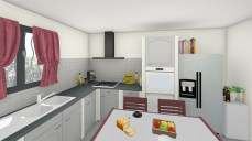 Rénovation d'une cuisine à Roquebrune sur Argens