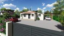 Rénovation porche d'entrée à Roquebrune sur Argens