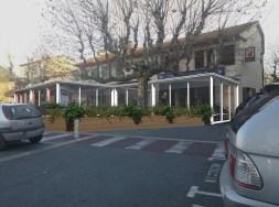 Fermeture terrasse restaurant sur Roquebrune