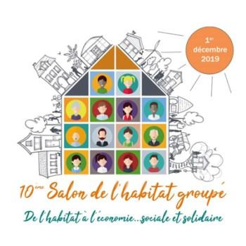 510ème édition du Salon de l'habitat groupé !! Dimanche 1er DECEMBRE 2019 à Namur