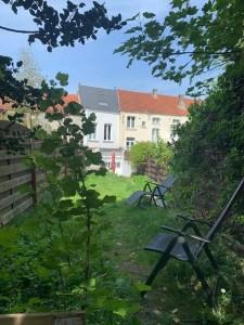 Colocation Uccle Calevoet / chaussée d'Alsemberg : 1 chambre non-meublée dans une belle et lumineuse maison avec terrasse et jardin