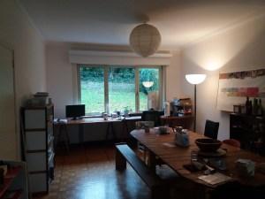 Petite chambre à louer au vert dans une belle maison en colocation