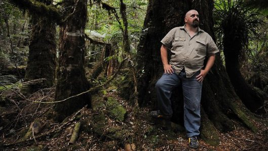 Scott Jordan in The Tarkine
