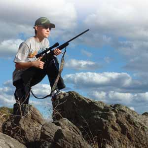 Sporting Shooters Association 12 year old apprentice