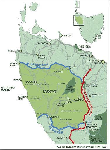 Tarkine Map