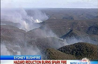 Bowen Mountain Fire 20120830