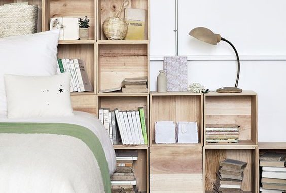 tete de lit bibliotheque