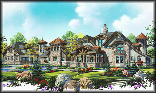 Stock House Plans Search by Floor Plan Type Luxury Home Plans