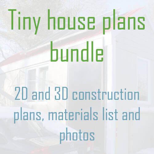 Tiny house plans bundle