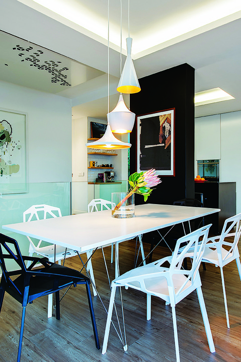 Eclectic – even quirky – this interior is evocative of Cape Town as an international design city.